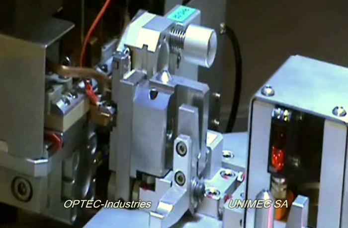 Poste de soudure laser de boîtier de pacemaker